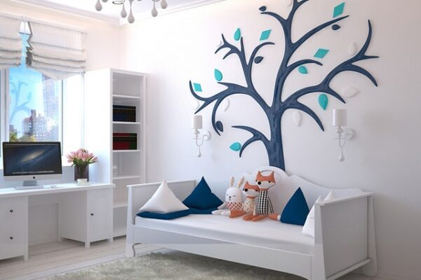 Børneværelse indretning - Opbevaring af tøj til børn